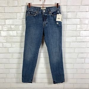 NWT Free People Slim Boyfriend Jeans